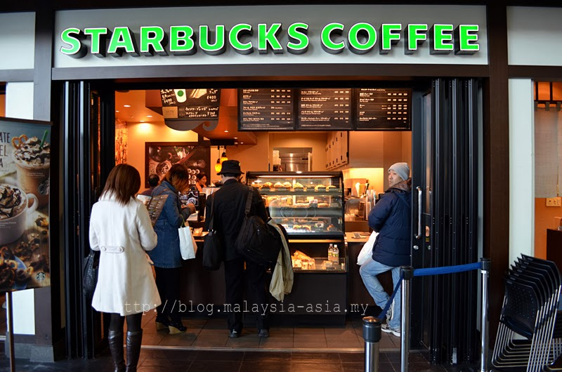 Starbucks at Nagoya Airport