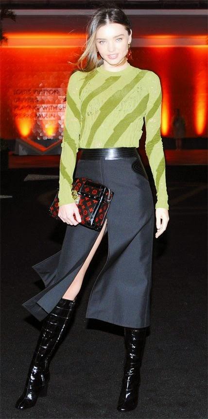 Os melhores looks de Dezembro -  Miranda Kerr