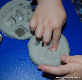 making play dough medals
