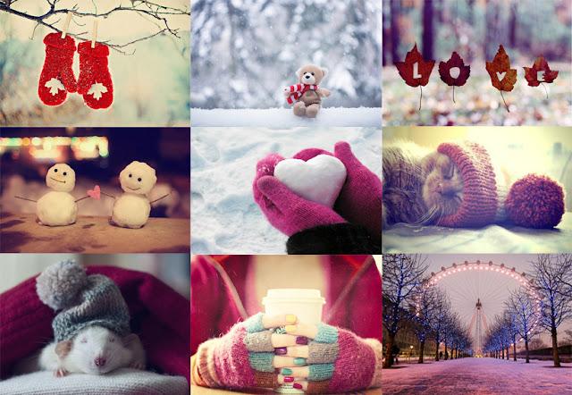 Imagens de inspiração para o inverno