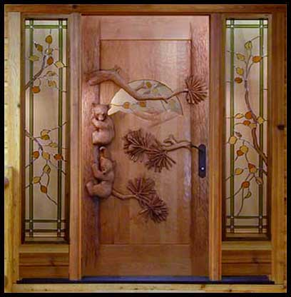 Home Improvement Products Guide Carved Wooden Doors