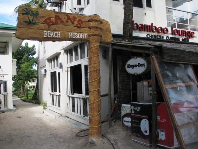 Bans Beach Resort, budget resort Boracay, budget hotel Boracay, hotel Boracay beach front