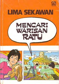 eBook Novel Lima Sekawan - Mencari Warisan Ratu