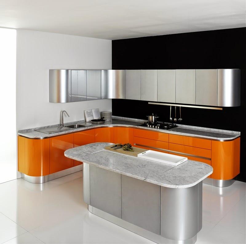 Desain Ruang Makan Minimalis Futuristic