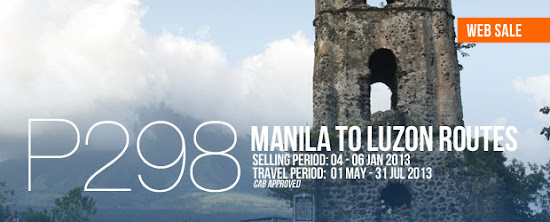AirPhil Express promo for Summer 2013