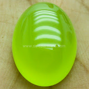 Batu Green Blimbing Calchedony - SP767