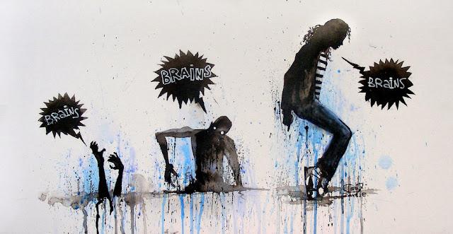 зомби, эволюция зомби, зомби муви, массовая культура