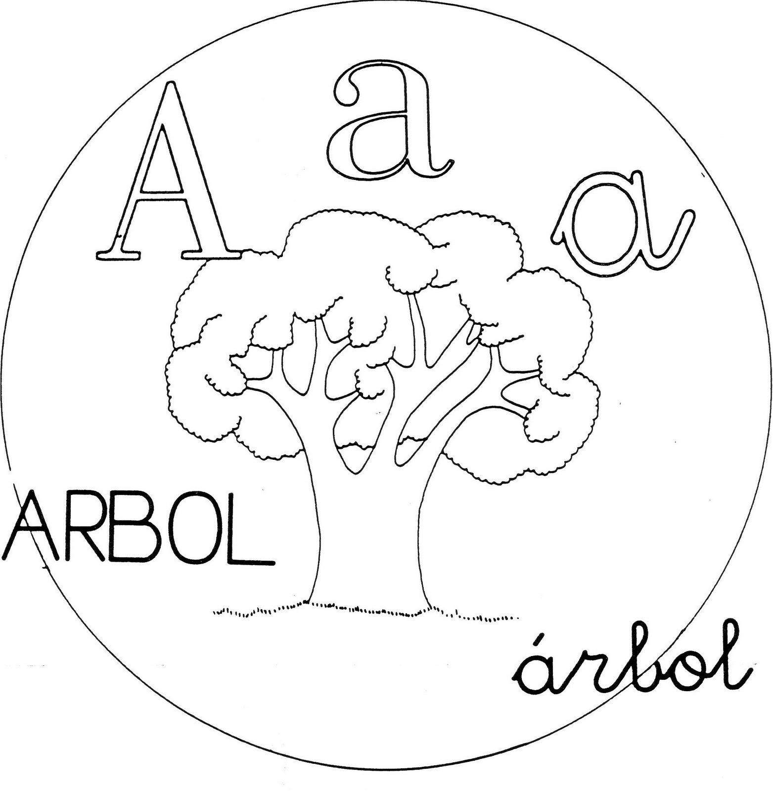 ... para Primaria e Infantil: Letras del abecedario para colorear