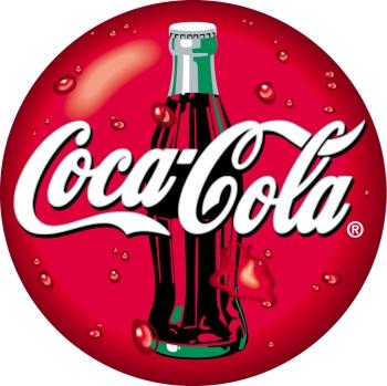 Coca Cola Beba Tray Glass