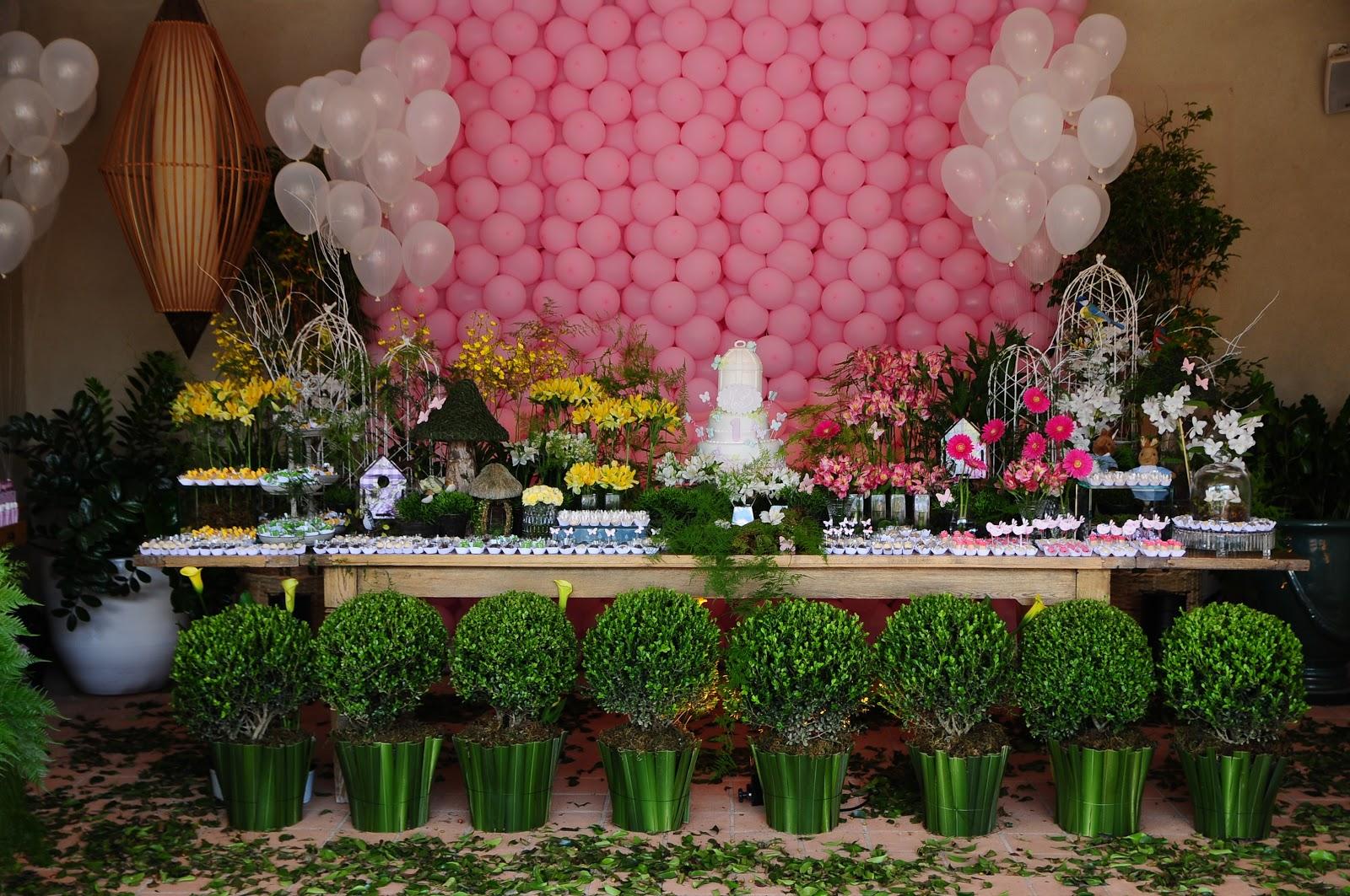 fotos de aniversario tema jardim encantado:Cotidiano Materno: Tema de Aniversário Jardim Encantado