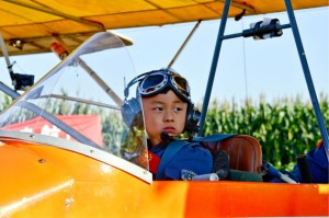 Duoduo young pilot from china