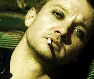 jeremy renner smoking
