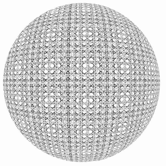 trama, tesela, rejilla, esfera, Escher, dibujo