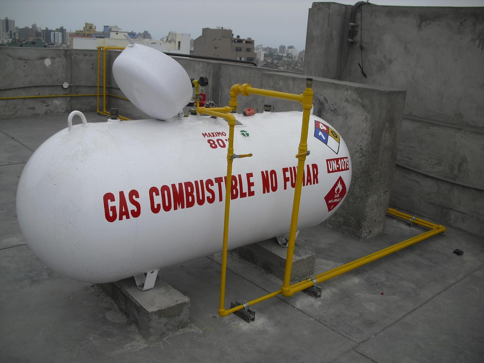 Instalaciones de gas instalaci n de tanque de glp for Estanques de gas licuado