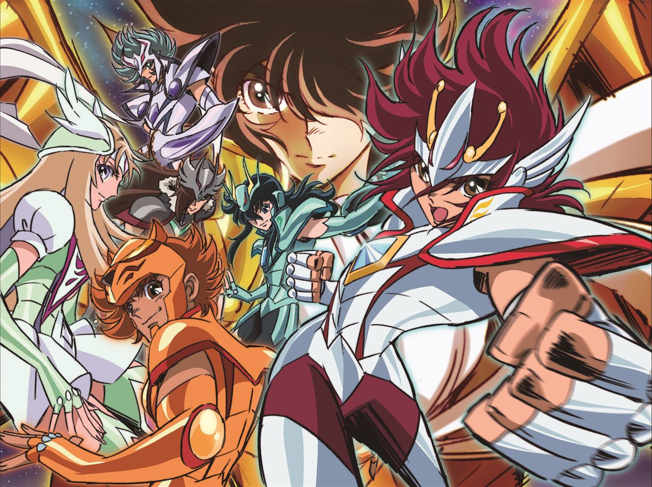 El anime Saint Seiya Omega tendra su propio manga con nuevos personajes