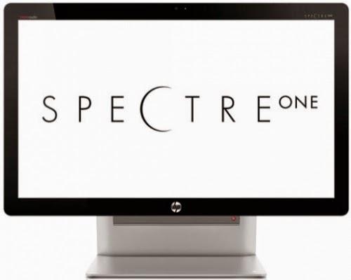 вид спереди моноблока HP Spectre One