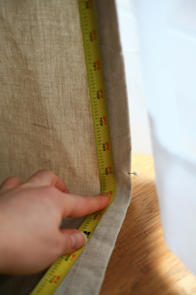 how to hem ikea or any curtains - How To Hem Curtains