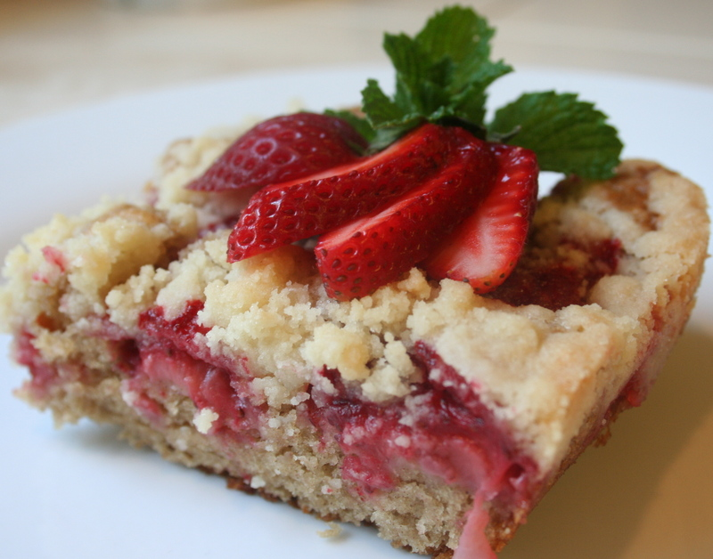 Cake Recipe: Easy recipe for making strawberry coffee cake