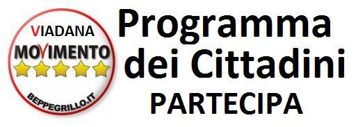 PROGRAMMA DEI CITTADINI - SCARICA IL PROGRAMMA DEL M5S VIADANA