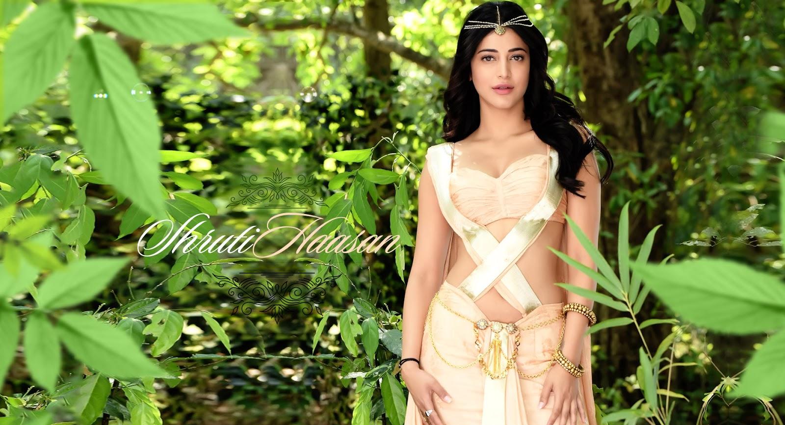shruti haasan beautiful actress photoshoot