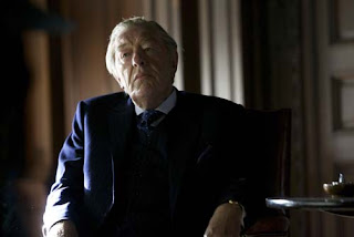 The old spymaster Lucas Romer played by Michael Gambon in Restless