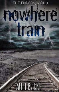 allie burke, allie burke author, nowhere train, nowhere train book, zombie fiction, young adult zombie
