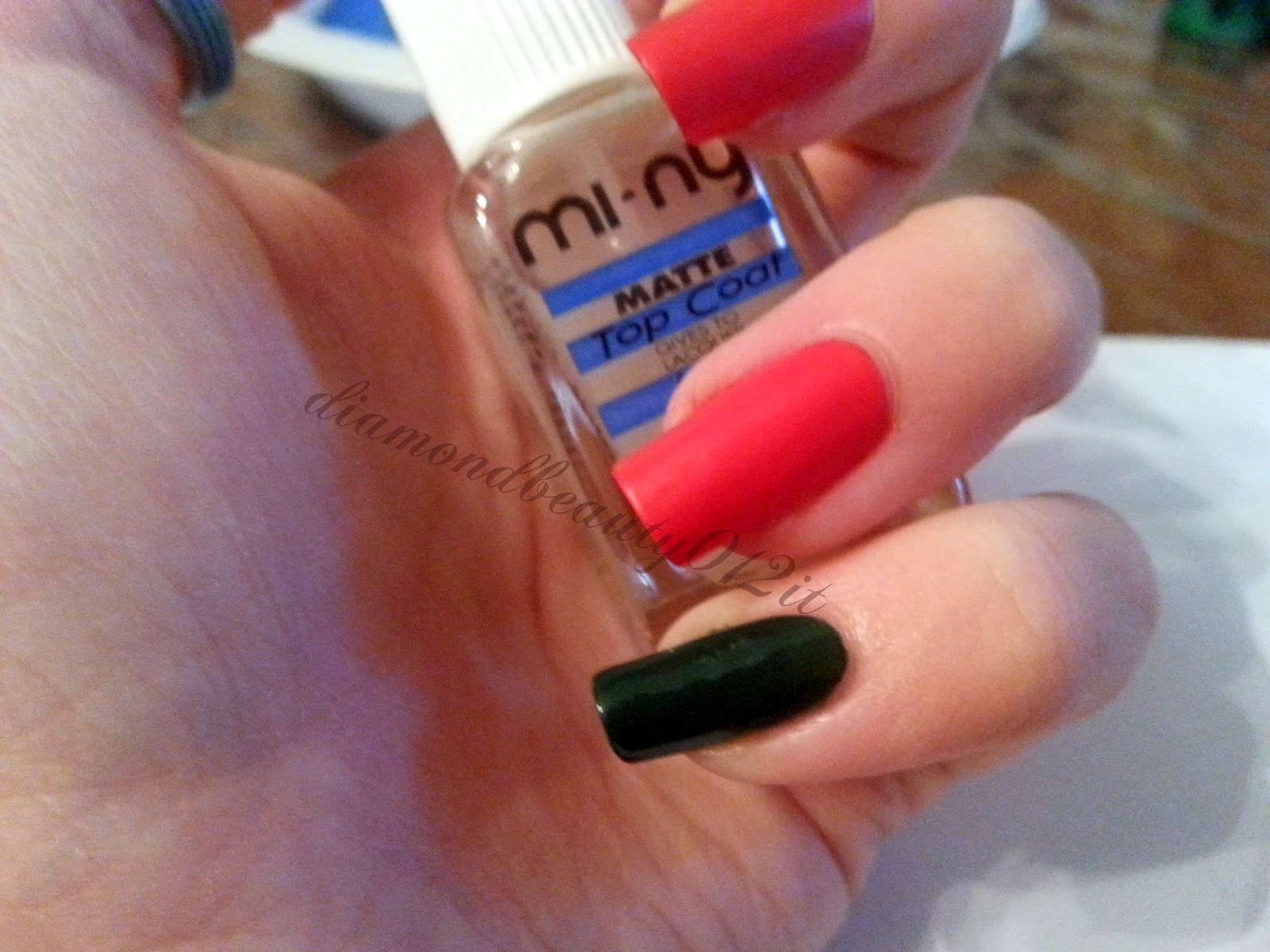 miny smalto top coat matt