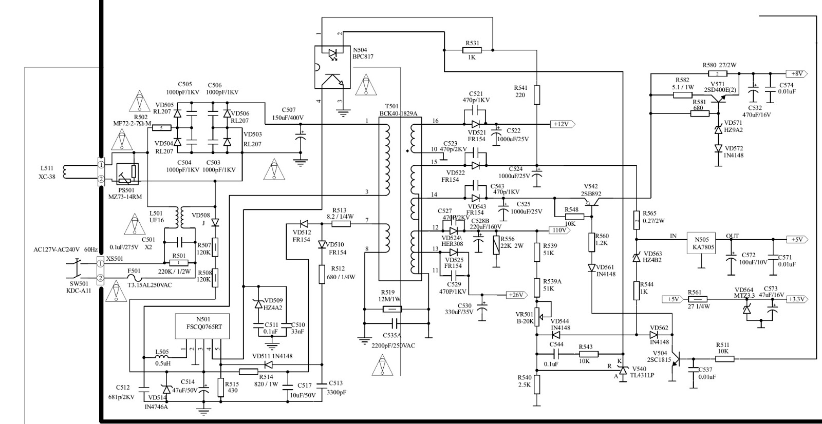 Philco Ph 21 Schematic Diagram Circuit Used Ics Str Of Click On Schematics To Zoom In