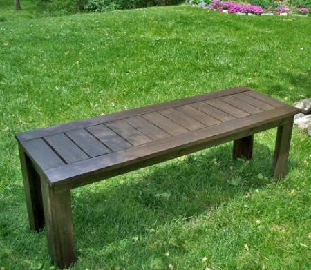 This DIY House Outdoor Table Refinishing An Old Kitchen Table