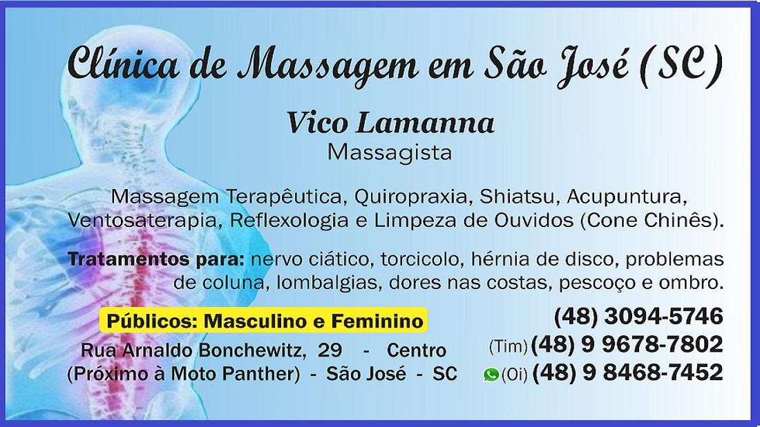 Ventosaterapia - Vico Massagista - São José SC - Massagem Terapêutica, Massoterapia e Quiropraxia