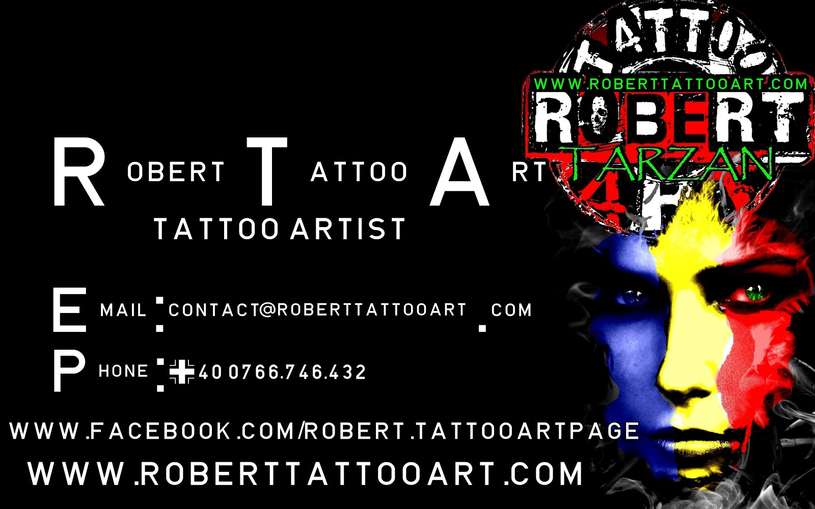 Robert Tattoo Art