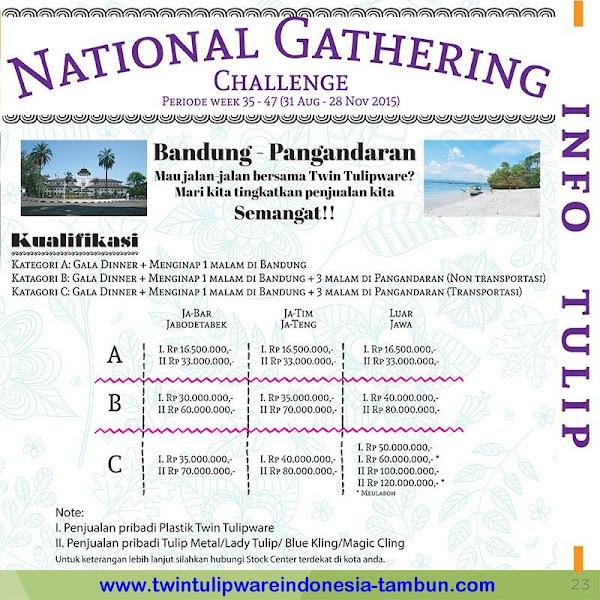 Info : National Gathering 2016