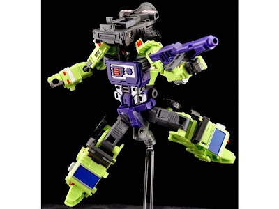 Custom de Mixmaster Constructicons de Transformers G1 de Maketoys