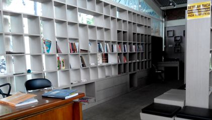 lokasi perpustakaan di taman trunojoyo