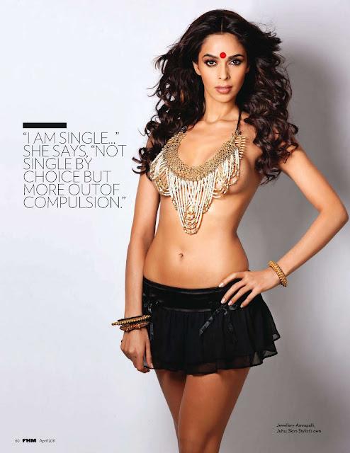 sexy  Mallika Sherawat in FHM 2011