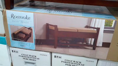 Roanoke Storage Bench for your home's entry way