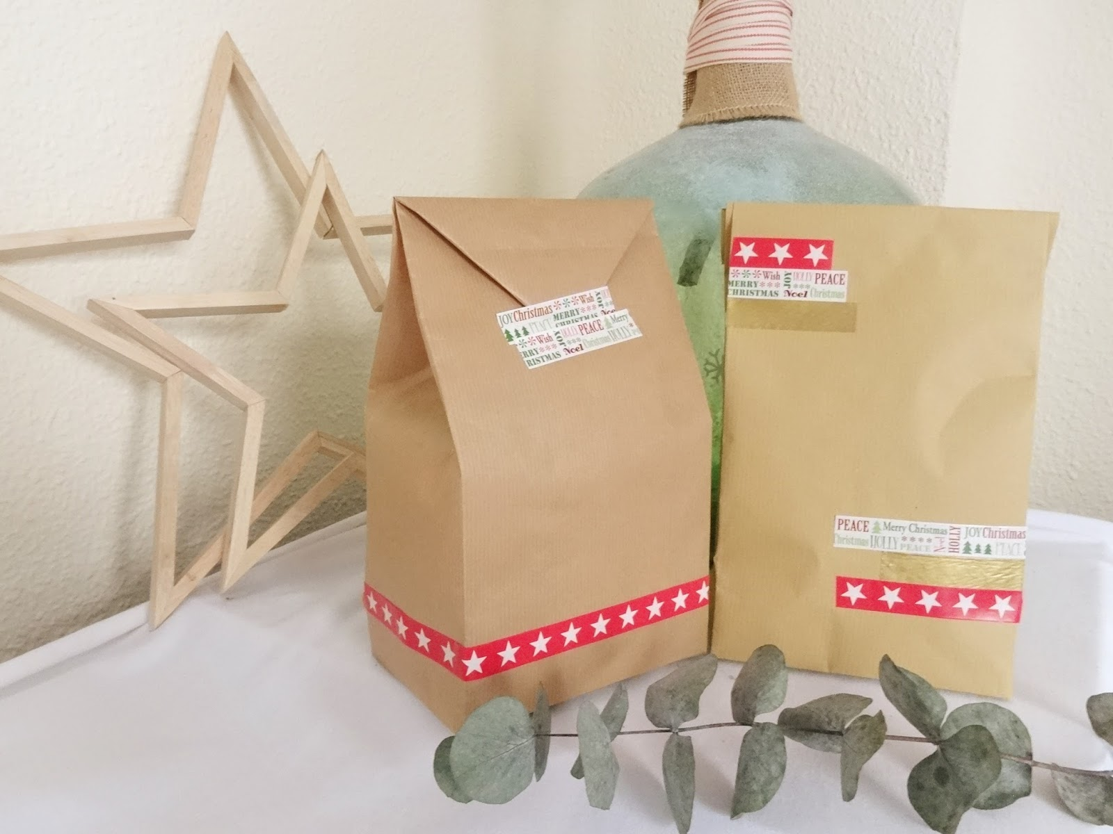 Mi papel preferido bolsas regalo de papel taller - Como hacer bolsas de regalo ...