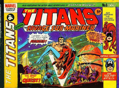 Marvel UK, Titans #8, Sub-Mariner