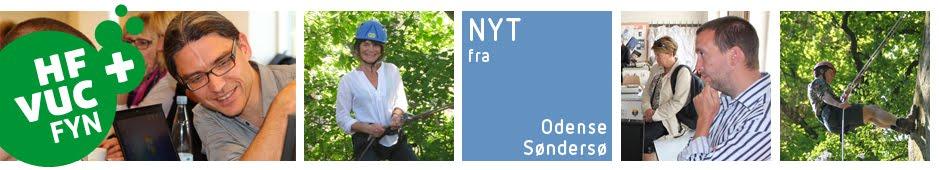 Nyt fra HF OG VUC FYN Odense City Campus