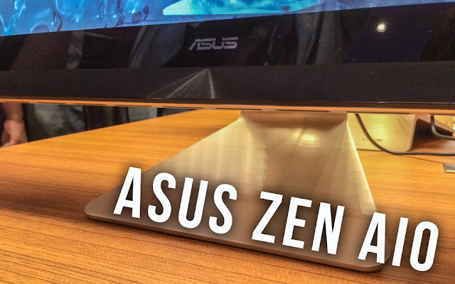 подставка и динамики ASUS Zen AIO