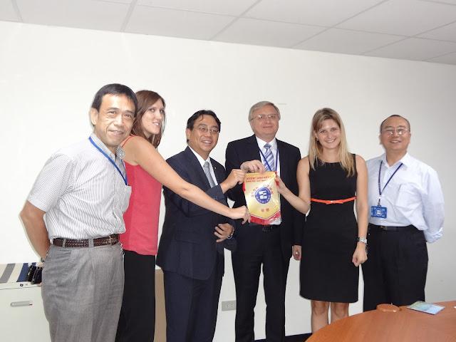 斯洛伐克駐華代表參訪