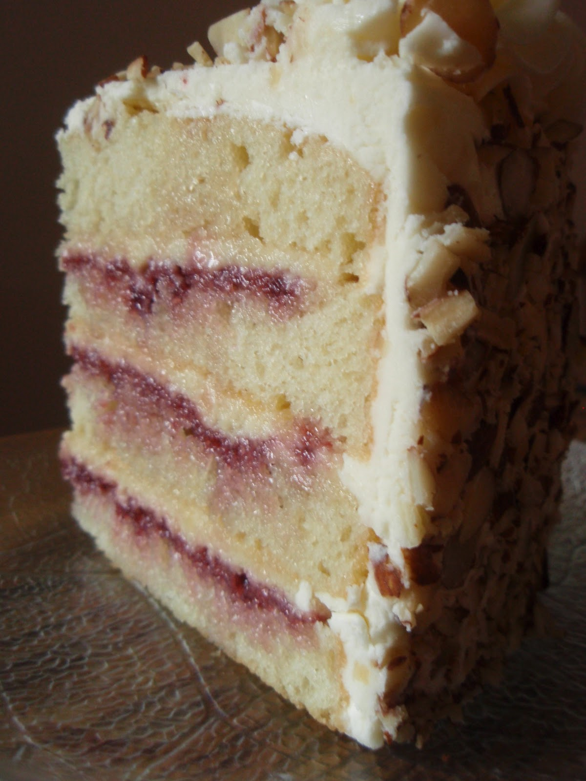 Raspberry Almond Dream Cake