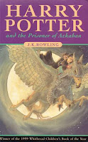 bookcover of HARRY POTTER AND THE PRISONER OF AZKABAN