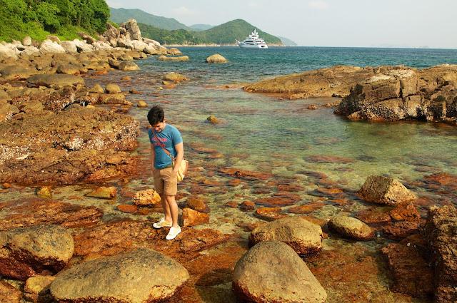 Sai Kung, Sai Kung Town, Hongkong, travel, wisata, tombolo, sharp island, kiu tsui beach, kiu tau, Hongkong global geopark