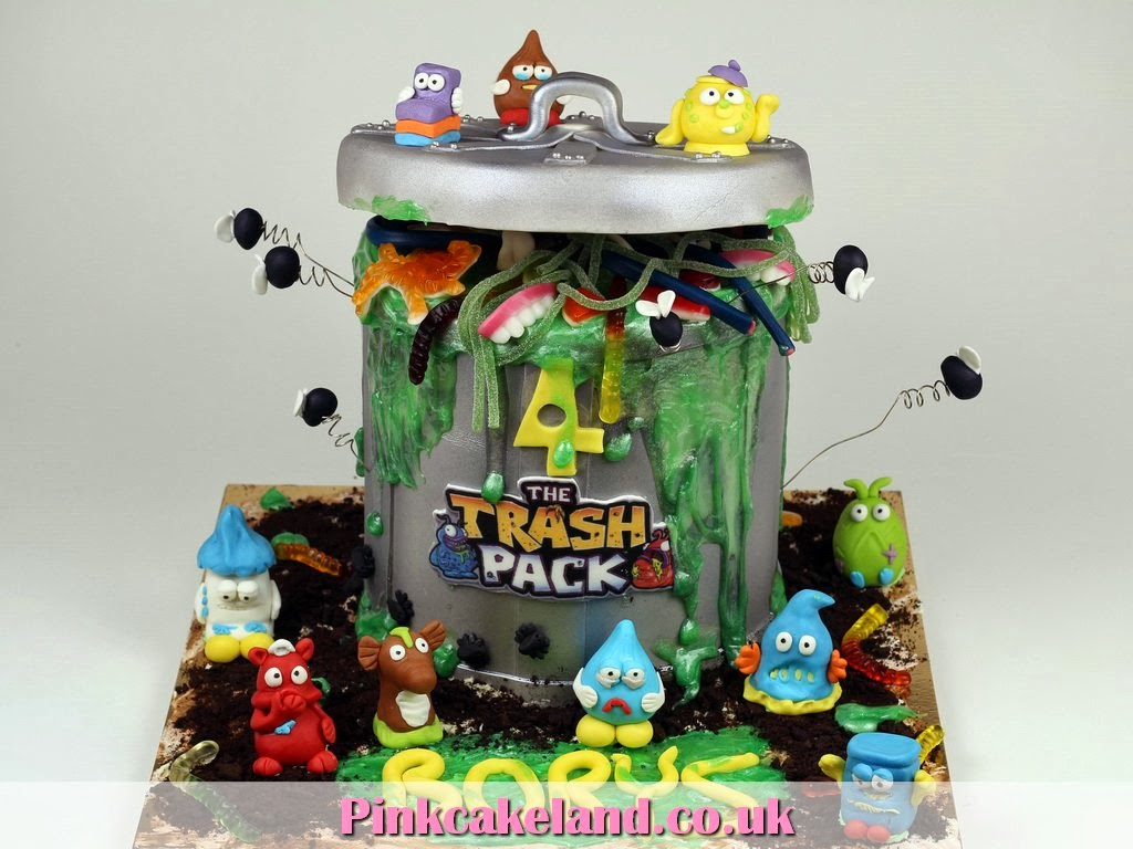 The Trash Pack Birthday Cake, London Cakes