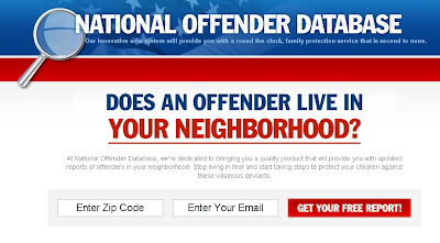 National Offender Database