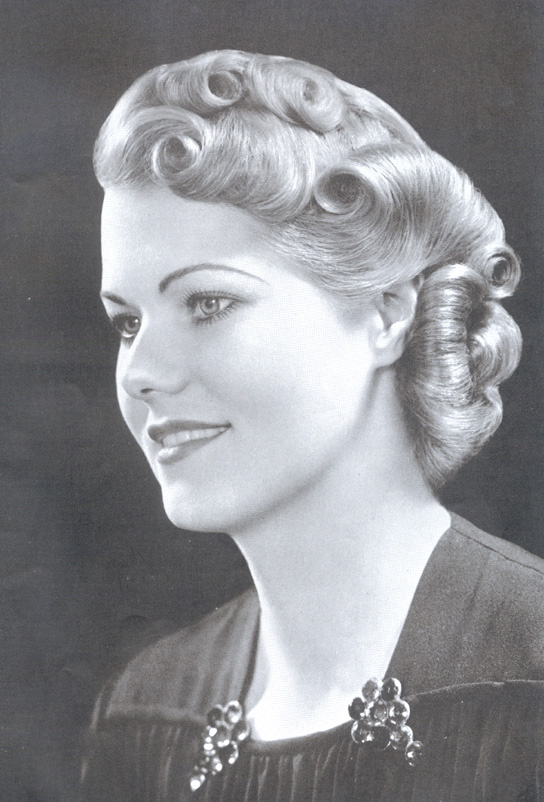 vintage hairstyles updo