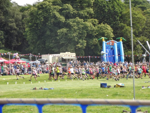 Ambleside Sports under 12s guides race