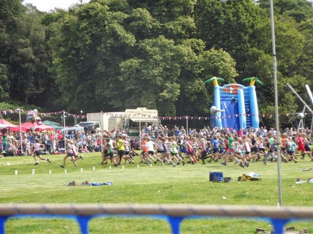 Ambleside Sports under 12s guides race