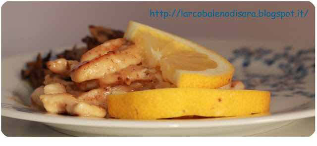 pollo al limone light